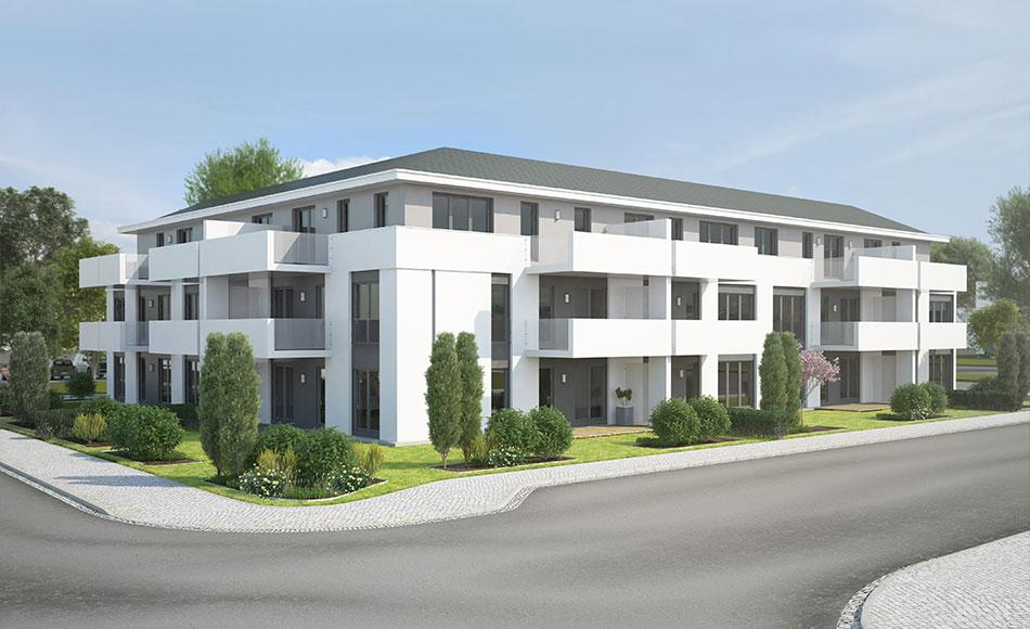 3d visualisierung für architektur neubau frankfurt