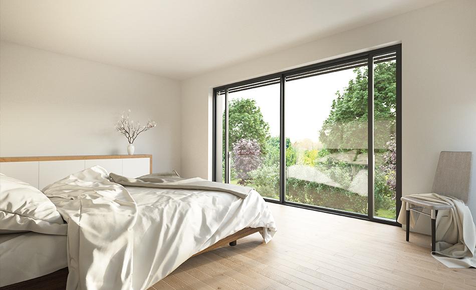 3D ARCHITEKTUR-VISUALISIERUNG Schlafzimmer