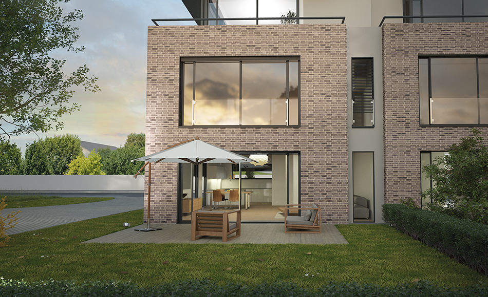 3D ARCHITEKTUR-VISUALISIERUNG TERRASSE
