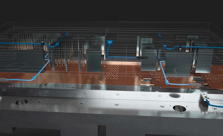 3D Visualisierung und Animation Stanzprozess MARPOSS