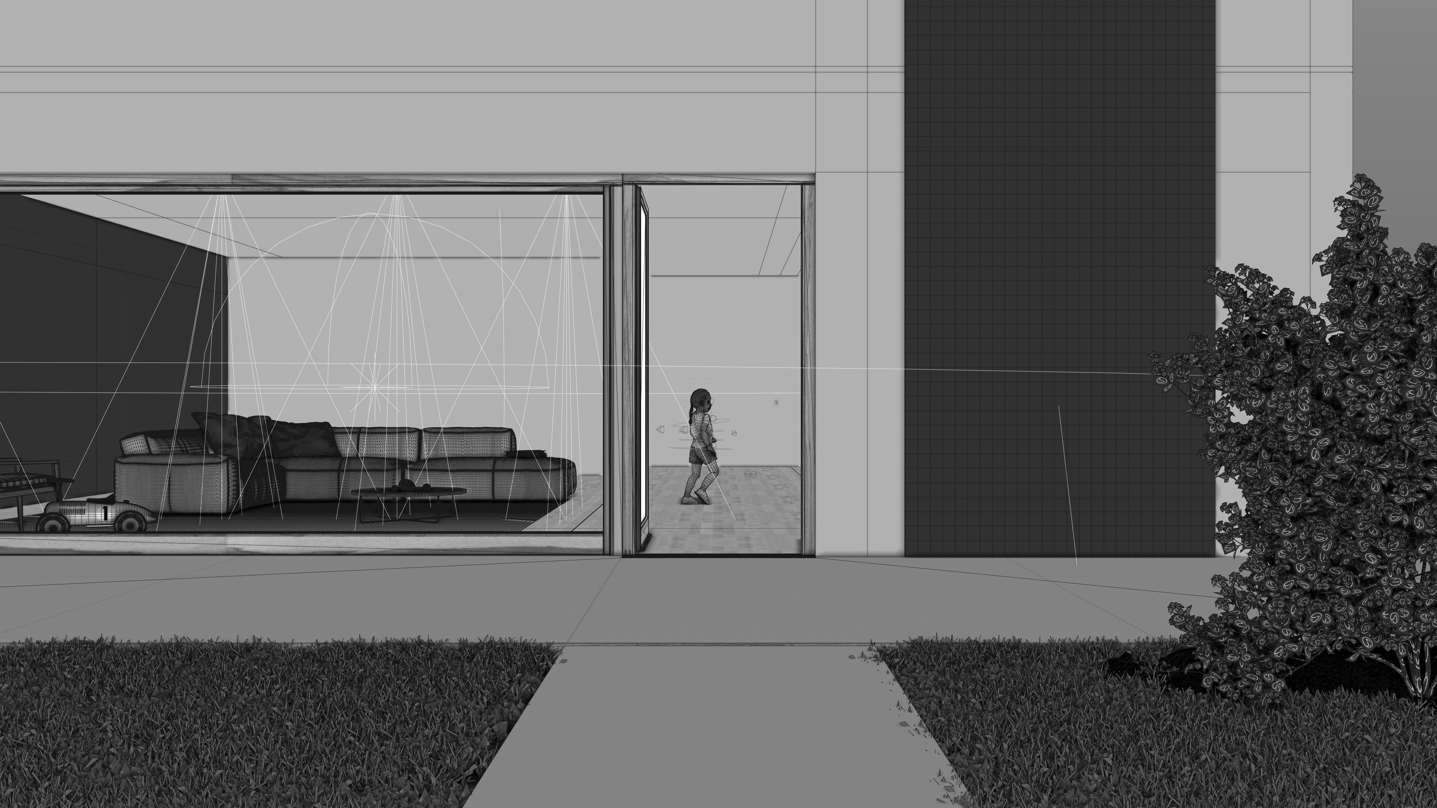 3d rendering exterior vorschau